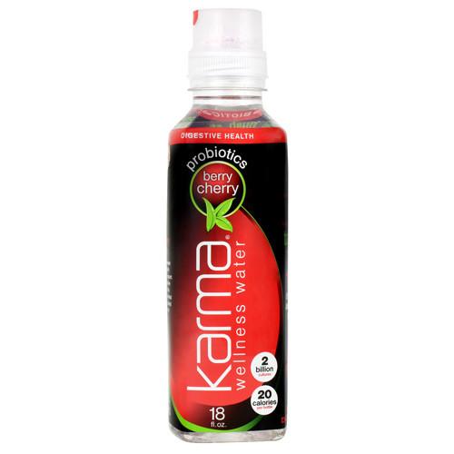 Wellness Water, Berry Cherry, 12 (18 fl oz) Bottles