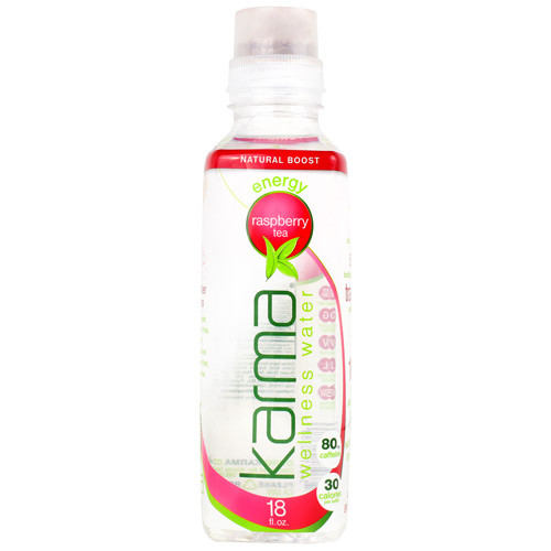 Wellness Water, Raspberry Tea, 12 - 18 fl. oz Bottles