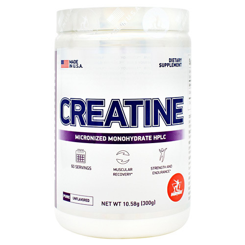 Creatine, Pure Unflavored, 60 Servings (300g)