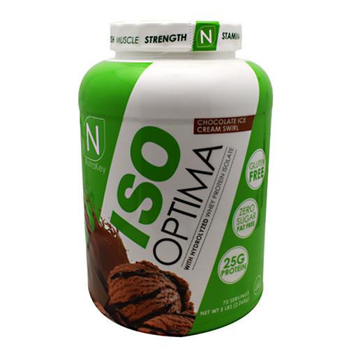 Iso Optima, Chocolate Ice Cream Swirl, 5 lbs