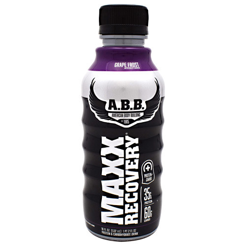 Maxx Recovery, Grape Frost, 12 (18 fl oz) Bottles