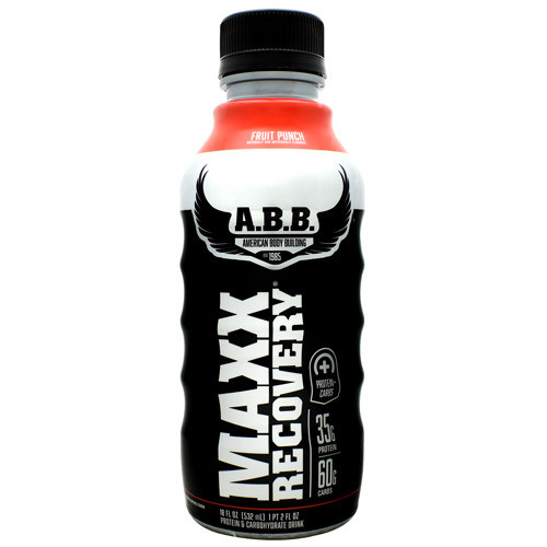 Maxx Recovery, Fruit Punch, 12 (18 fl oz)Bottles