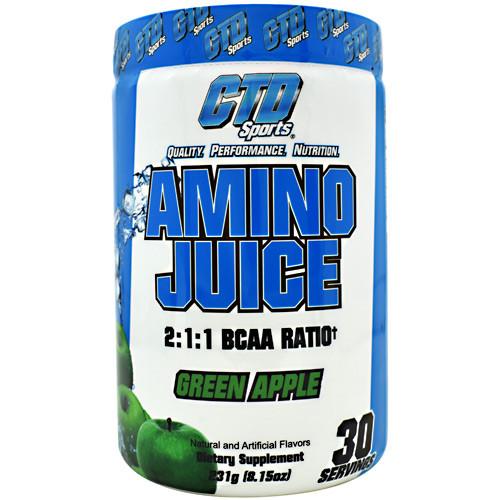 Amino Juice, Green Apple, 30 Servings (231g)
