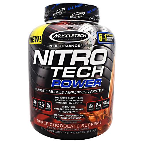 Nitro Tech Power, Triple Chocolate Supreme, 4 lbs