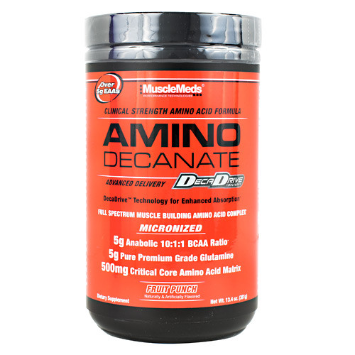 Amino Decanate, Fruit Punch, 30 Servings (13.4 oz)