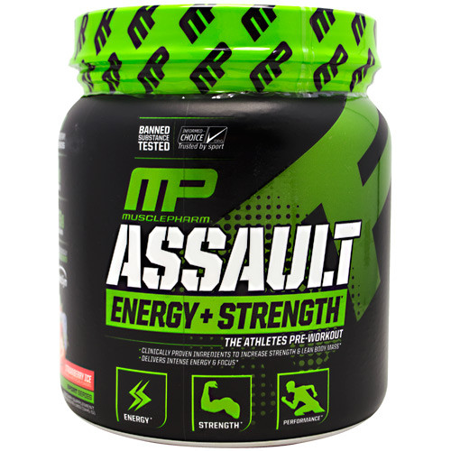Assault, Strawberry Ice, 30 Servings