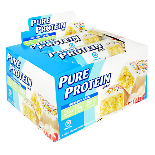Pure Protein, Birthday Cake, 6 Bars
