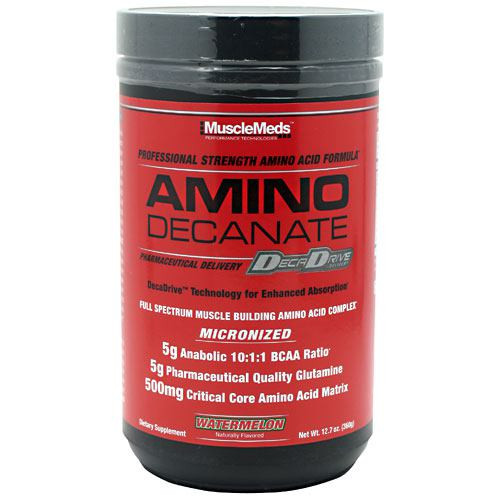 Amino Decanate, Watermelon, 12.7 oz (360g)