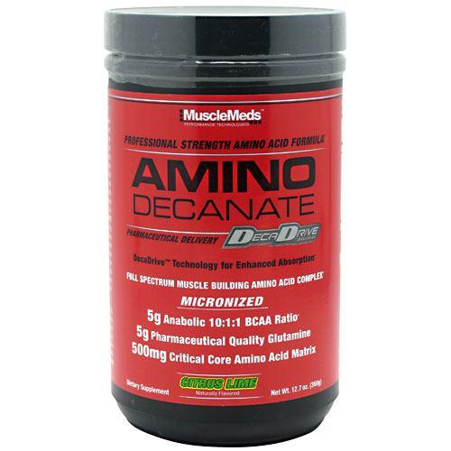 Amino Decanate, Citrus Lime, 12.7 oz (360g)