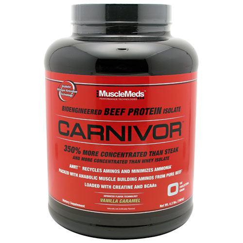 Carnivor, Vanilla Caramel, 4.2 lbs (1904g)