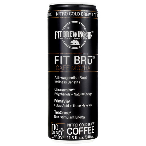 Fit Bru, Cafe Mocha, 12 (11.5 fl oz) Cans