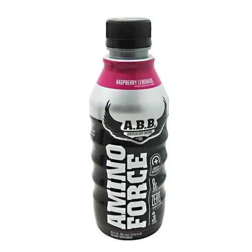 Amino Force, Raspberry Lemonade, 12 (22 fl oz) bottles