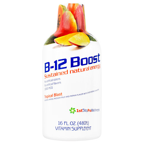 B12 Boost, Tropical Blast, 16 FL OZ (480 ml)