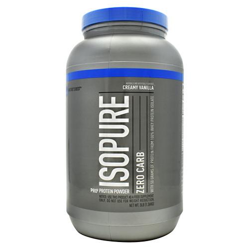 Zero Carb Isopure, Creamy Vanilla, 3 lbs (1361 g)