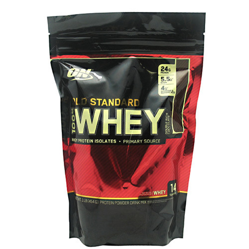 100% Whey, Double Rich Chocolate, 1 lb