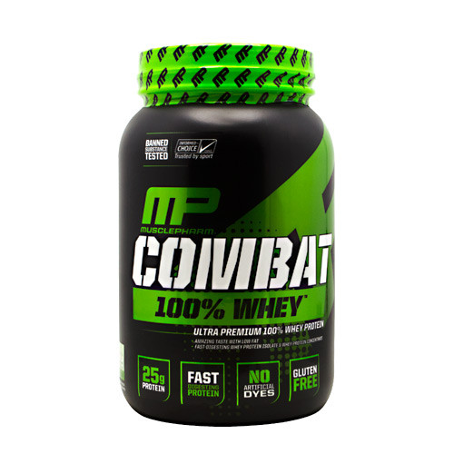 Combat 100% Whey, Vanilla, 2 pounds
