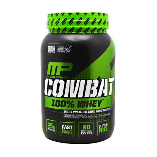 Combat 100% Whey, Chocolate Milk, 2 pounds