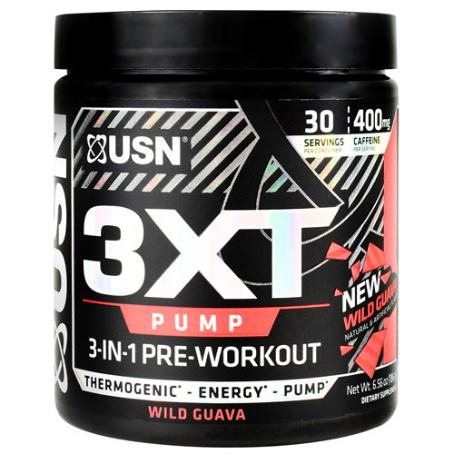 3xt Pump, Wild Guava, 30 Servings