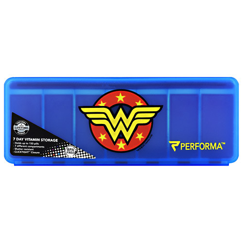7 Day Vitamin Storage, Wonder Woman, 1 (7 Day) Container