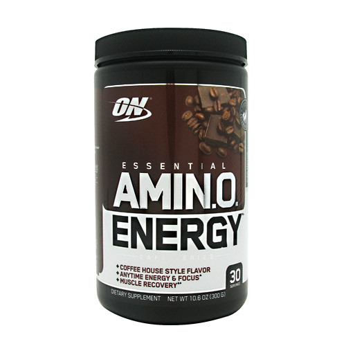 Essential Amino Energy, Iced Mocha Cappuccino, 30 Servings