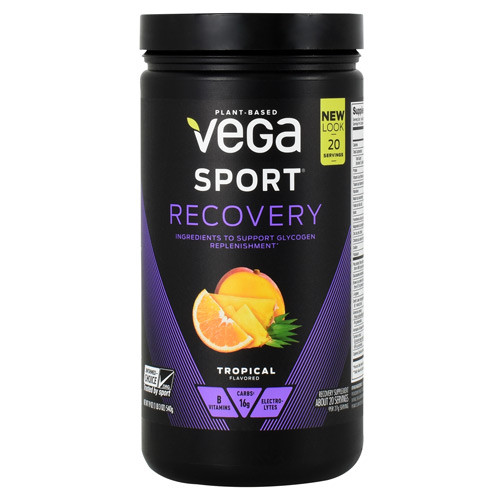 Recovery, Tropical, 20 Servings (19 oz)