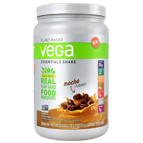 Essentials Shake, Mocha, 18 Servings (22 oz)