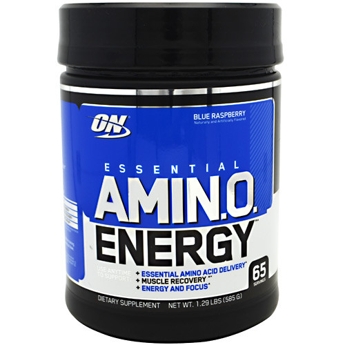 Essential Amino Energy, Blue Raspberry, 65 Servings