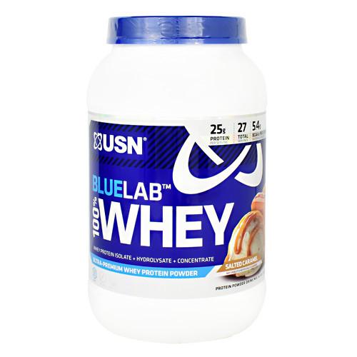 Blue Lab 100% Whey, Salted Caramel, 2 lbs. (907.2 g)