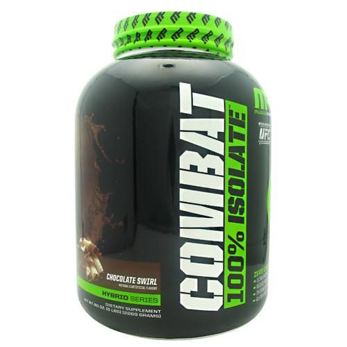Combat 100% Isolate, Chocolate Swirl, 5 lbs (2269 grams)
