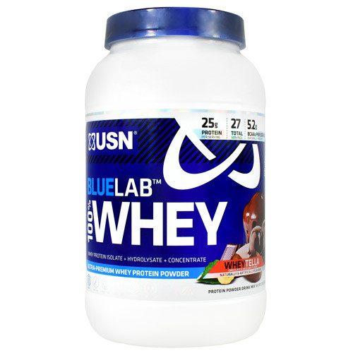 Blue Lab 100% Whey, Wheytella, 2 LBS