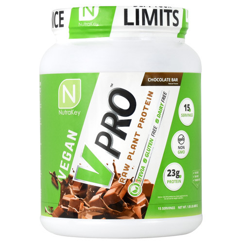 V Pro, Chocolate Bar, 15 Servings (1.05 lb)