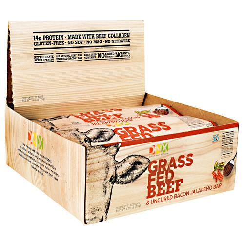 Beef Bar, Uncured Bacon Jalapeno, 12 (1.25 oz) Bars