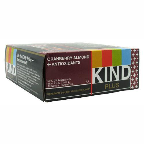 Kind Plus Antioxidants, Cranberry & Almond, 12 - 1.4 oz (40g) Bars