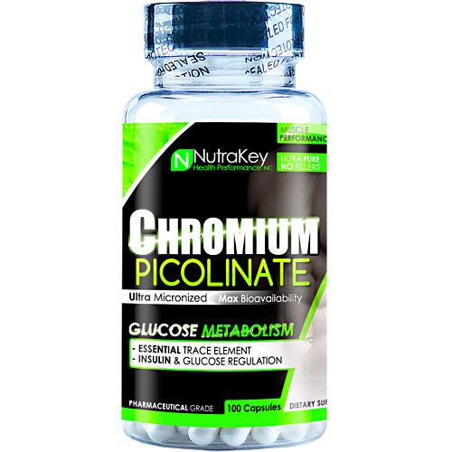 Chromium Picolinate, 100 Capsules, 100 Capsules
