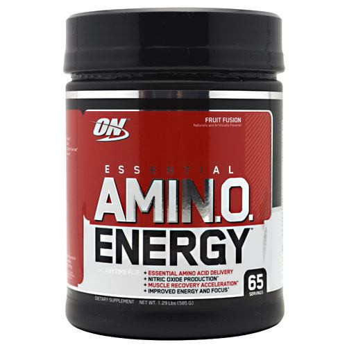 Essential Amino Energy, Fruit Fusion, 65 Servings