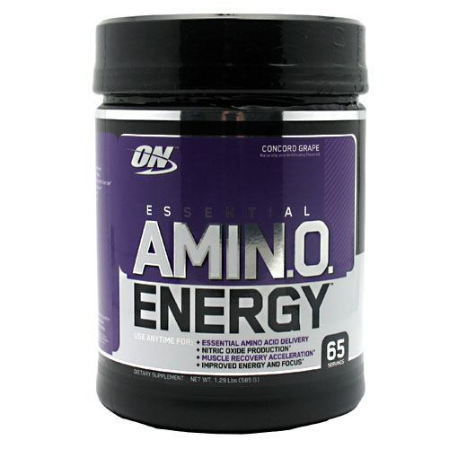 Essential Amino Energy, Grape, 65 servings