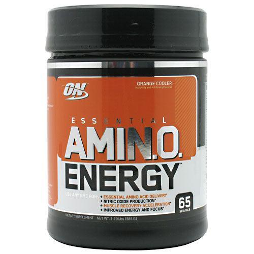 Essential Amino Energy, Orange Cooler, 65 Servings