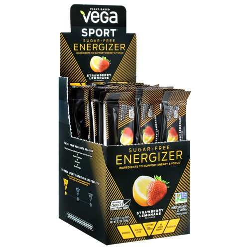 Energizer Sugar-free, Strawberry Lemonade, 30 (0.12 oz) Packs