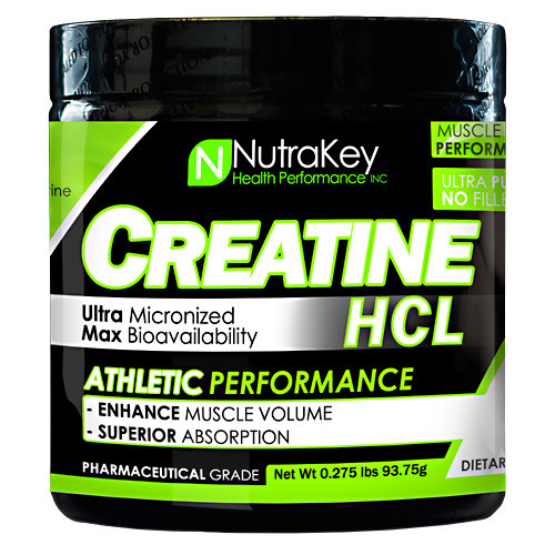 Creatine Hcl, Unflavored, 125 Scoops