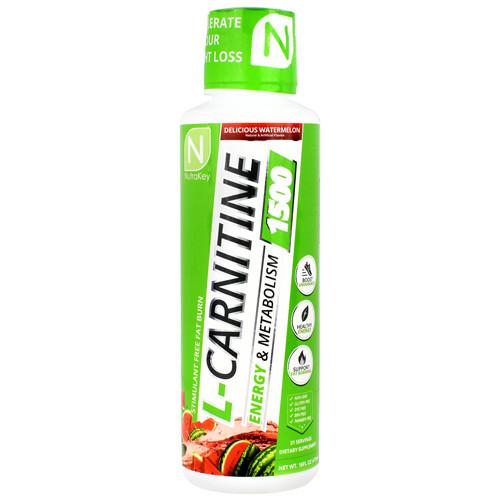 L-carnitine 1500, Delicious Watermelon, 31 Servings (16 fl oz)