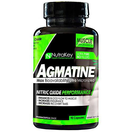 Agmatine,  90 Capsules, 90 Capsules