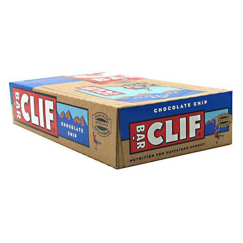 Energy Bar, Chocolate Chip, 12 - 2.4 oz (68 g) bar