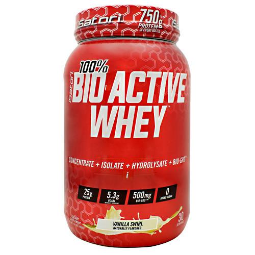 Bio-active Whey, Vanilla Swirl, 30 Servings (2.31 lbs)