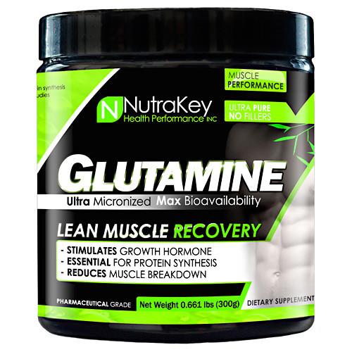 L-glutamine, Unflavored, 300 Grams