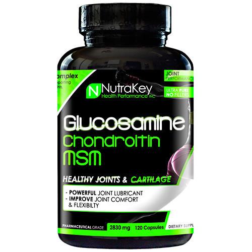 Glucosamine Chondroitin Msm, 120 Capsules, 120 Capsules