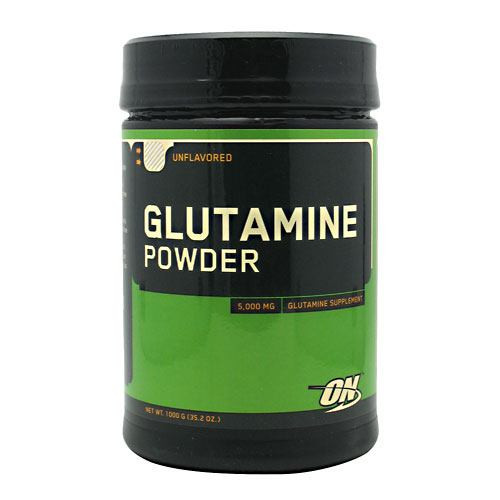 Glutamine Powder, Unflavored, 1000 g (35.2 oz)
