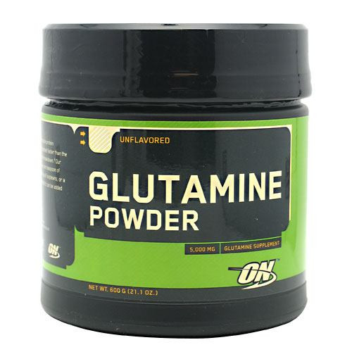 Glutamine Powder, Unflavored, 600 g (21.1 oz)