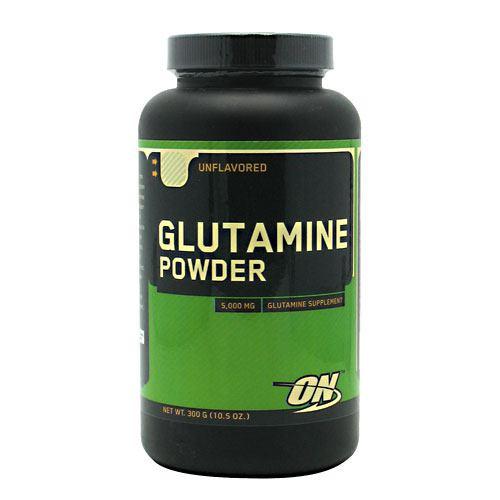 Glutamine Powder, Unflavored, 300 g (10.56 oz)