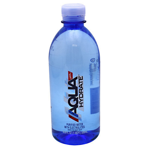 Aquahydrate, 500ml 24-pack, 24 - 16.9 fl oz (500mL)  bottles