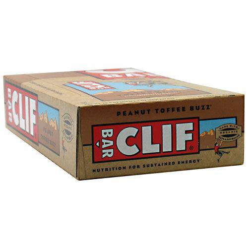 Energy Bar, Peanut Toffee Buzz, 12 - 2.4 oz (68 g) bars [28.8 oz (816 g)]
